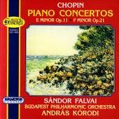Frederic Chopin: Piano Concertos by Sándor Falvai