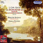Johann Christian Bach: 6 Keyboard Sonatas with Violin Accompaniment Op.10 by Erika Petőfi