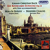 Johann Christian Bach: Six Keyboard Sonatas with Flute Accompaniment Op.16 by Benedek Csalog