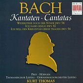 BACH, J.S.: Cantatas - BWV 54, 56, 82 (Thomas) by Various Artists