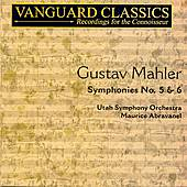 Symphonies No,. 5 and 6 by Gustav Mahler