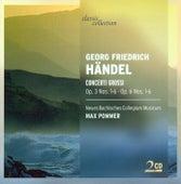 HANDEL, G.F.: Concerti Grossi - Opp. 3, 6 (New Bach Collegium Musicum Leipzig, Pommer) by Max Pommer