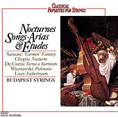 Classical Favorites For Strings - Nocturnes, Songs, Arias & Etudes by Various Artists