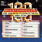 100 Masterpieces, Vol.1 - The Top 10 Of Classical Music: 1685 - 1730 by Various Artists