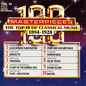 100 Masterpieces, Vol.10 - The Top 10 Of Classical Music: 1894 - 1928 by Various Artists