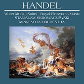Handel: Water Music (Suite), Music for the Royal Fireworks [VOX LP Reissue: QTV-S 34632] by Minnesota Orchestra and Stanislaw Skrowaczewski