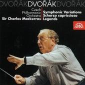 Dvorak: Symphonic Variations, Scherzo capriccioso, Legends by Czech Philharmonic Orchestra