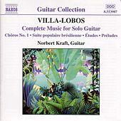 Complete Music for Solo Guitar by Heitor Villa-Lobos