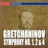 Gretchaninov: Symphony Nos. 1, 2 & 4 by Moscow RTV Symphony Orchestra