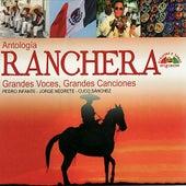 Antología Ranchera - Grandes Voces, Grandes Canciones by Various Artists