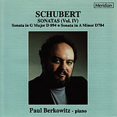 Schubert: Sonatas, Vol. IV by Paul Berkowitz