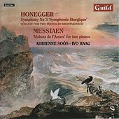 Piano Duos by Honegger & Messiaen by Piano Duo Soós Haag - Adrienne Soós