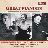 Great Pianists - Vol. 1 by Wilhelm Backhouse