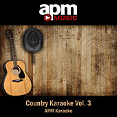 Country Karaoke Vol. 3 by APM Karaoke