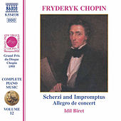 Piano Music Vol. 12 by Frederic Chopin