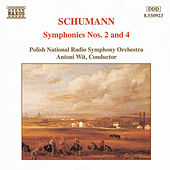 Symphonies Nos. 2 and 4 by Robert Schumann
