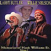 Memories Of Hank Williams Sr. Vol. 2 by Larry Butler