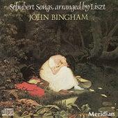 Schubert songs, arranged by Franz Liszt by John Bingham