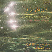 Bach: Sonatas for Violin and Obbligato Keyboard by Ruth Waterman