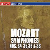 Mozart: Symphonies - Vol. 7 - 34, 35, 36 & 38 by Various Artists