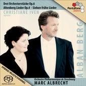 Berg, A.: 3 Stucke / 5 Altenberglieder / 7 Fruhe Lieder / Wein, Weib und Gesang by Various Artists