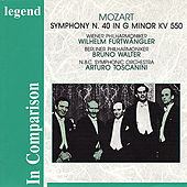 Mozart: Symphony No. 40 in G Minor, KV 550 - Furtwängler, Walter & Toscanni In Comparison by Various Artists