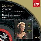 Strauss: Four Last Songs/ Orchesterlieder by George Szell