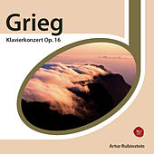 Grieg: Piano Concerto Op. 16 by Arthur Rubinstein