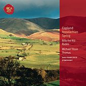 Copland: Appalachian Spring; Billy the Kid; Rodeo: Classic Library Series by Michael Tilson Thomas