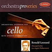 Orchestral Excerpts For Cello by Ronald Leonard