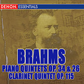 Brahms: Piano Quintet Op. 34, Clarinet Quintet Op. 115, Piano Quartet Op. 26 by Various Artists