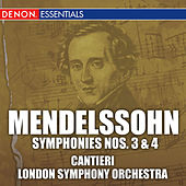 Mendelssohn: Symphonies Nos. 3 & 4 by Various Artists