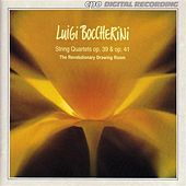 Boccherini: String Quartets, Opp. 39 and 41 by Revolutionary Drawing Room