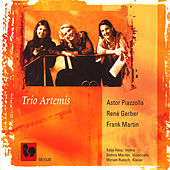 Piazzolla, Gerber, Martin: Trios for Violin, Cello & Piano by Bettina Macher
