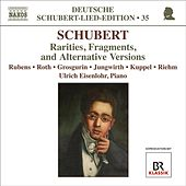 Schubert, F.: Lied Edition 35 - Rarities, Fragments, and Alternative Versions by Various Artists