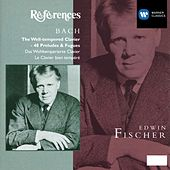 Bach: The Well-Tempered Clavier - 48 Preludes & Fugues BWV 846-893 by Edwin Fischer