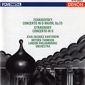 Tchaikovsky: Violin Concerto in D Major - Stravinsky: Violin Concerto in D by London Philharmonic Orchestra