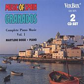 Music of Spain - Granados: Complete Piano Music, Vol. I by Marylène Dosse