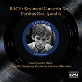 Bach: Keyboard Concerto in D minor, BWV 1052 - Partitas Nos. 5 and 6 by Glenn Gould