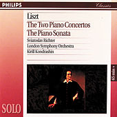 Liszt: The Two Piano Concertos/The Piano Sonata by Sviatoslav Richter