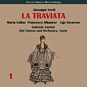 Verdi: La traviata, Vol. 1 by Maria Callas