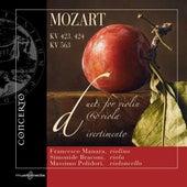 Mozart: Duos for Violin and Viola by Francesco Manara