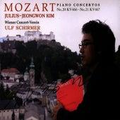 Mozart: Piano Concertos No.20 & 21 by Wolfgang Amadeus Mozart