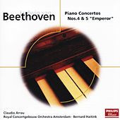 Beethoven: Piano Concertos Nos.4 & 5 by Claudio Arrau