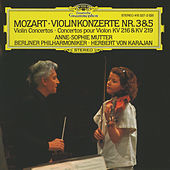 Mozart: Violin Concertos Nos.3 & 5 by Anne-Sophie Mutter