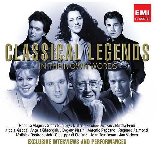 Classical Legends - In Their Own Words by Various Artists