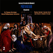 Händel: Messiah, Oratorio, HWV 56, Vol. 2 by Sir Thomas Beecham