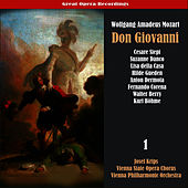 Mozart: Don Giovanni [1955], Vol. 1 by Vienna Philharmonic Orchestra