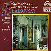 Tchaikovsky:  Orchestral Suites Nos. 1- 4 by Prague Symphony Orchestra