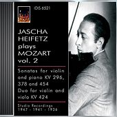 Mozart, W.A.: Violin Sonatas Nos. 17, 26 and 32 / Duo for Violin and Viola, K. 424 (Jascha Heifetz Plays Mozart, Vol. 2) (1936, 1941, 1947) by Various Artists